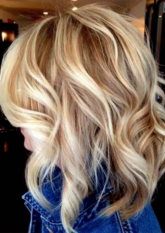 Blonde Butterscotch Highlights