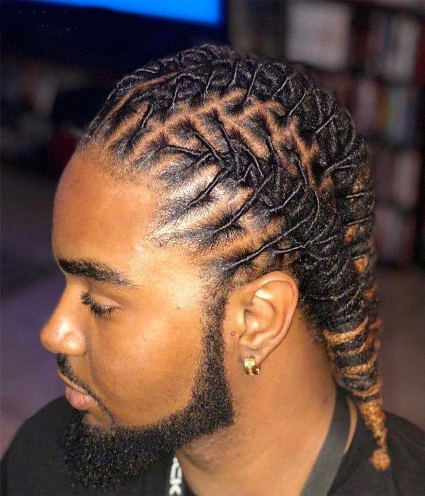 Dread Braids Men Hairstyles