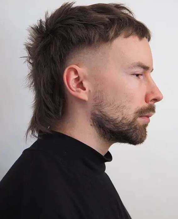 Mullet Hairstyle for Men