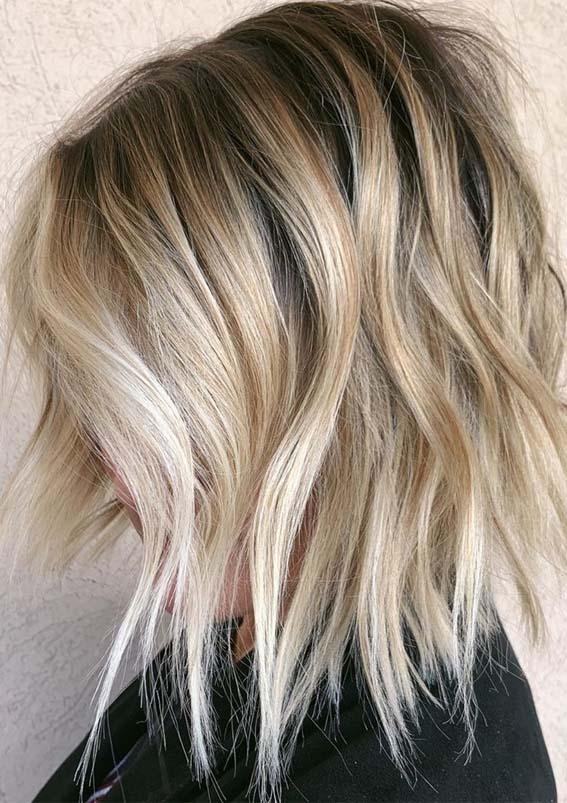 Neck-Length Bob Hairstyle
