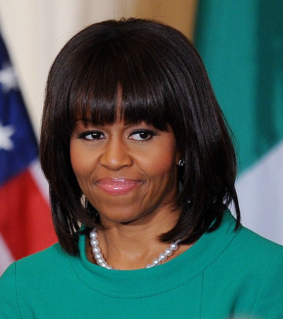 Michelle Obama Hairstyles Celebrity Latest Hairstyles 2016