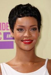 rihanna hairstyles - celebrity