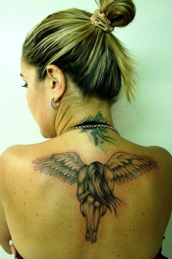 Image result for angel wings Tattoos for Women