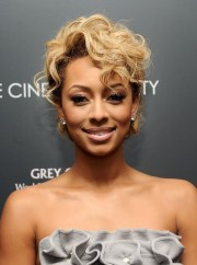 keri hilson trendy short blonde