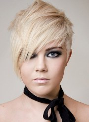 short emo hairstyles with side