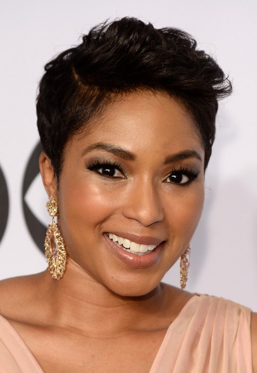 African American Short Side Part Haircut From Alicia