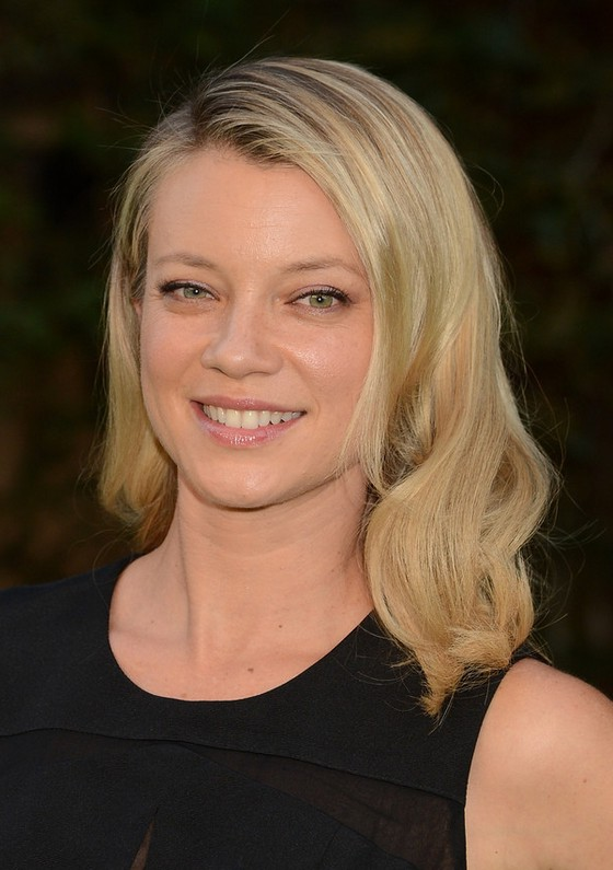 Amy Smart Casual Medium Blonde Wavy Haircut Styles Weekly