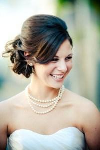 Bride Wedding Hairstyles For Medium Length Hair   Rachael ...