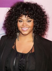 jill scott black curly hairstyle
