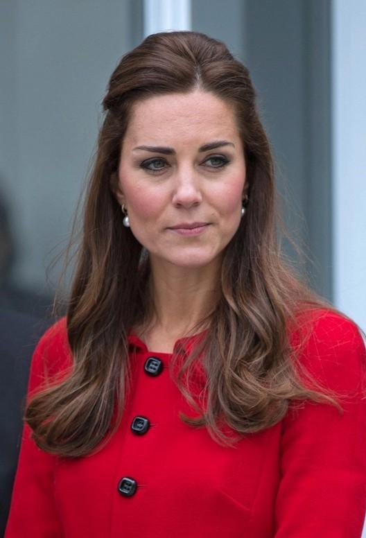 Kate Middleton Half Up Half Down Hair Styles For Women