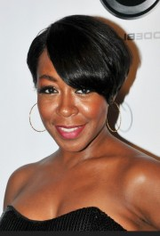 tichina arnold short side parted