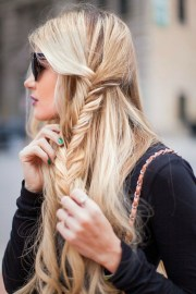 side-braid hairstyles pretty