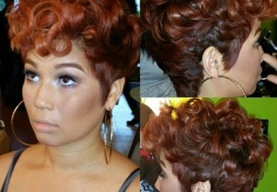 Black African American Women Best Pin Up Hairstyles