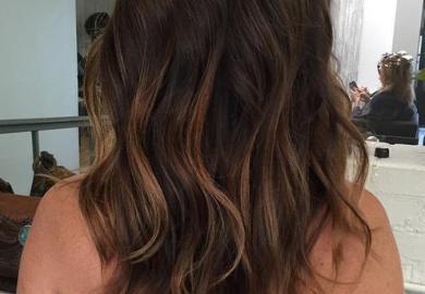 Ideas About Balayage Dark Hair On Pinterest Dark