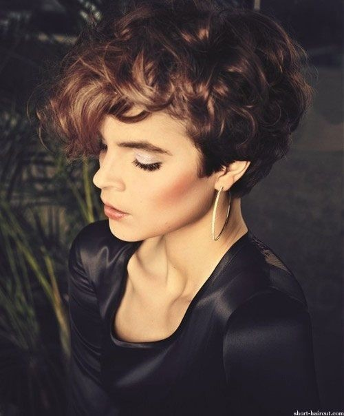 21 Lively Short Haircuts for Curly Hair  Styles Weekly