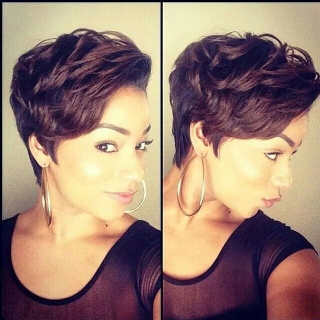 Short Hairstyle for African American Women