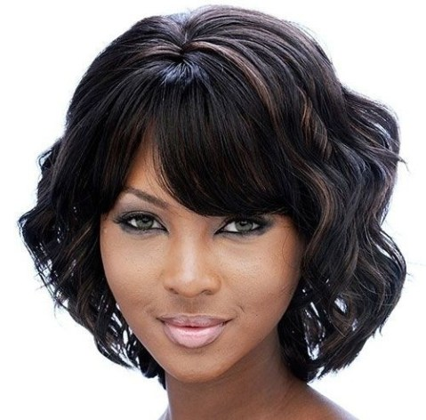 Groovy Short Bob Hairstyles for Black Women