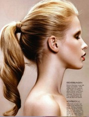 lovely ponytail hairstyles