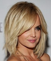 cute layered lob hairstyle styles