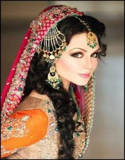 pretty indian bridal makeup