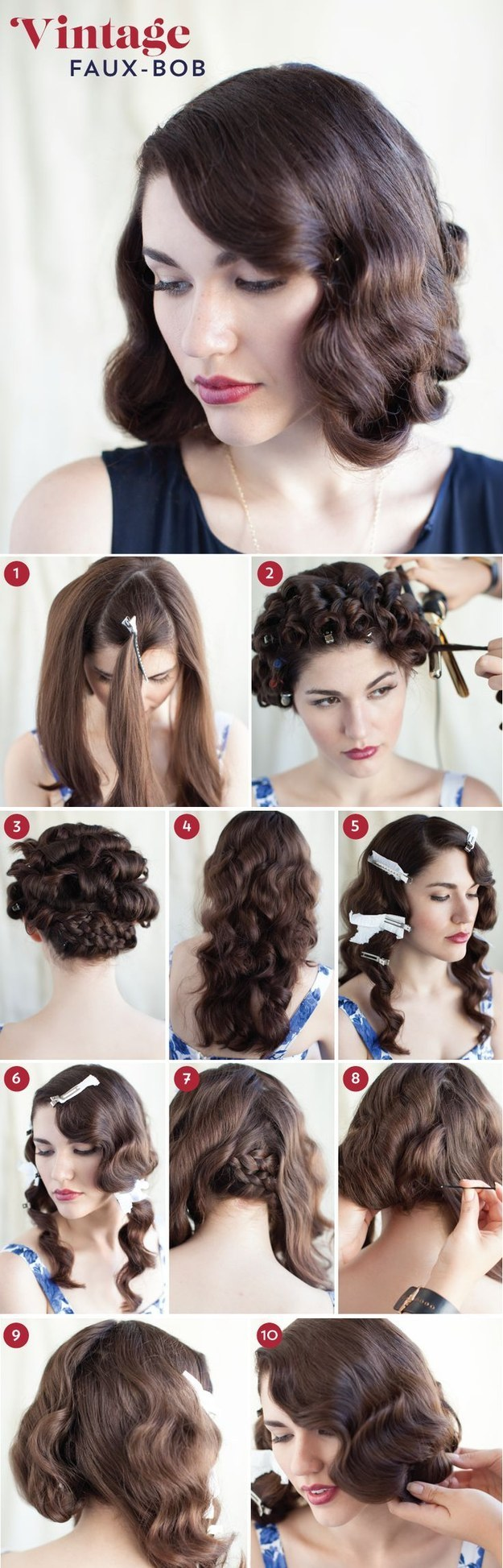 32 Vintage Hairstyle Tutorials You Should Not Miss Styles Weekly