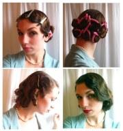 vintage hairstyle tutorials