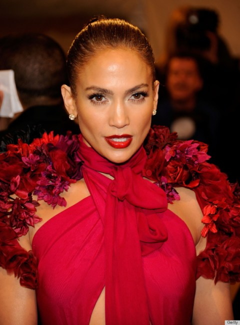 """Jennifer Lopez at the """"Alexander McQueen: Savage Beauty"""" Costume Institute Gala At The Metropolitan Museum Of Art"""