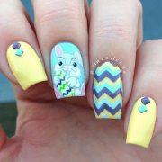 cute nail design spring