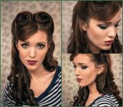 graceful vintage hairstyle tutorials