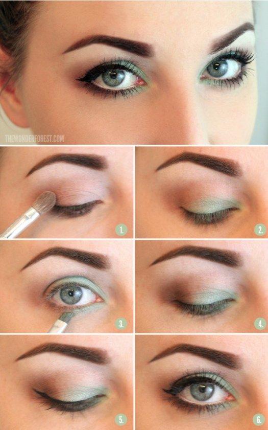 Natural Makeup Tutorial For Blue Green Eyes Makeup Tutorial Trick