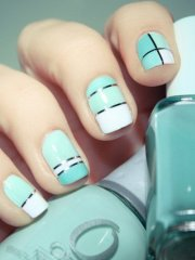 fashionable summer nail design
