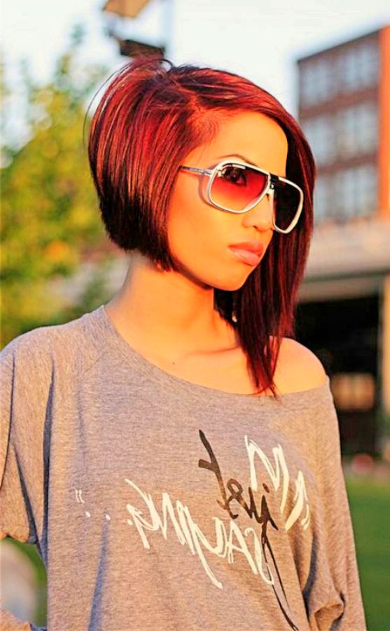 cool asymmetrical bob hairstyles styles weekly