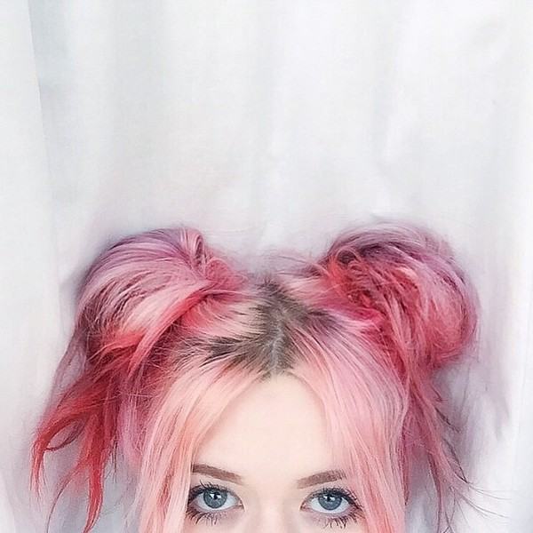 Anime Girl Umbrella City Sky Pink Wallpaper 15 Breathtaking Pastel Hair Looks For Summer Styles Weekly