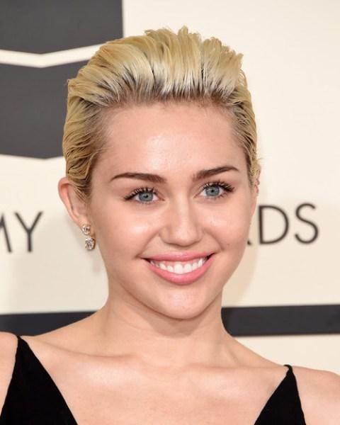 Miley Cyrus Back-teased Short Hair