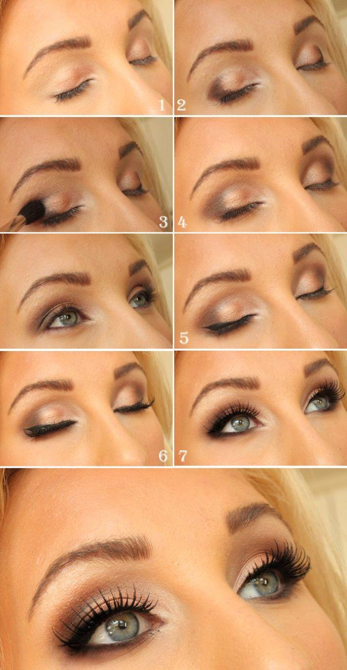 17 best light smoky eye makeup tutorials for summer | styles weekly