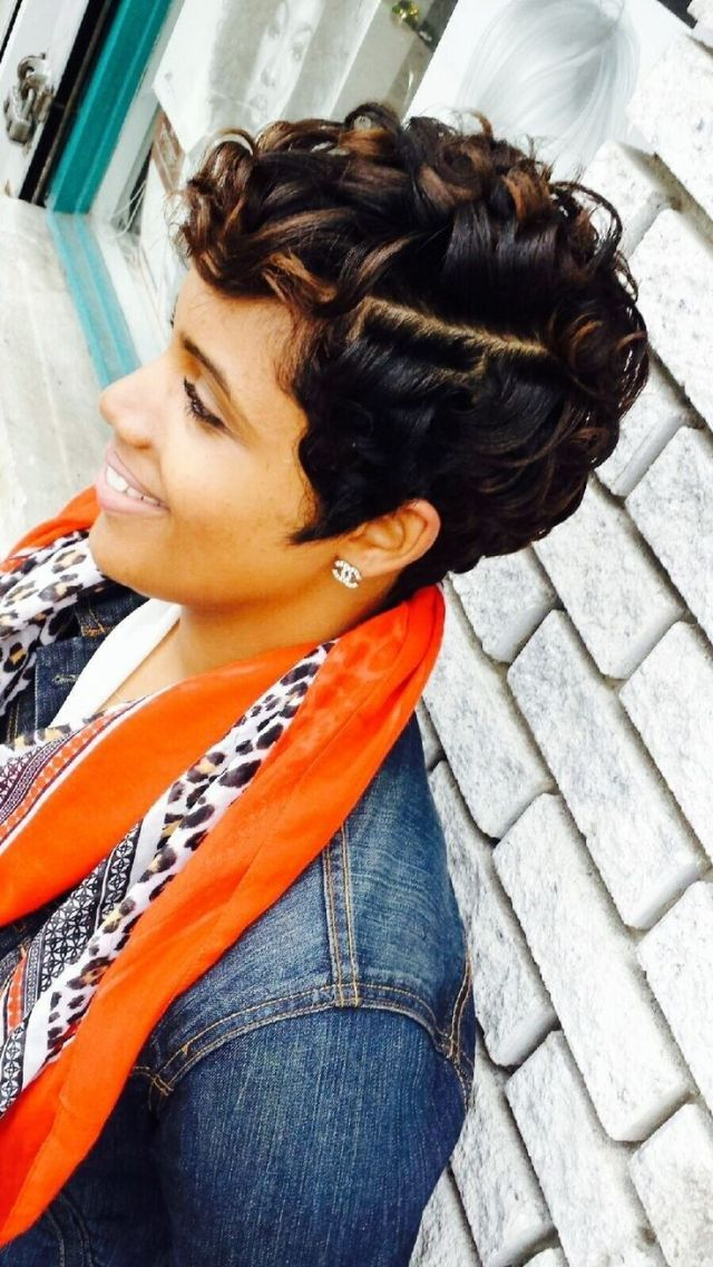 24 stunning short hairstyles for black women | styles weekly