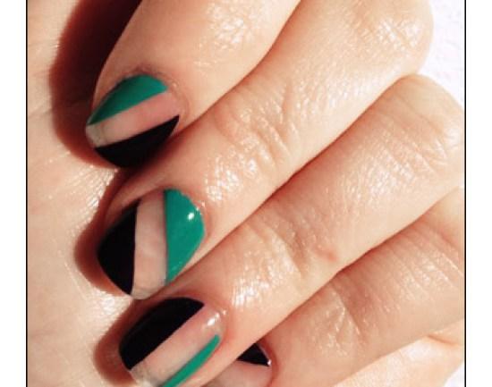 """Negative Nail Space"" Manicure"