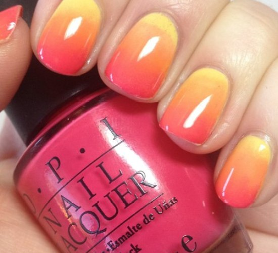 Sunset Nail Colors