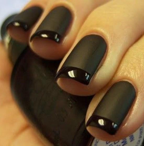 Dark Nail Design