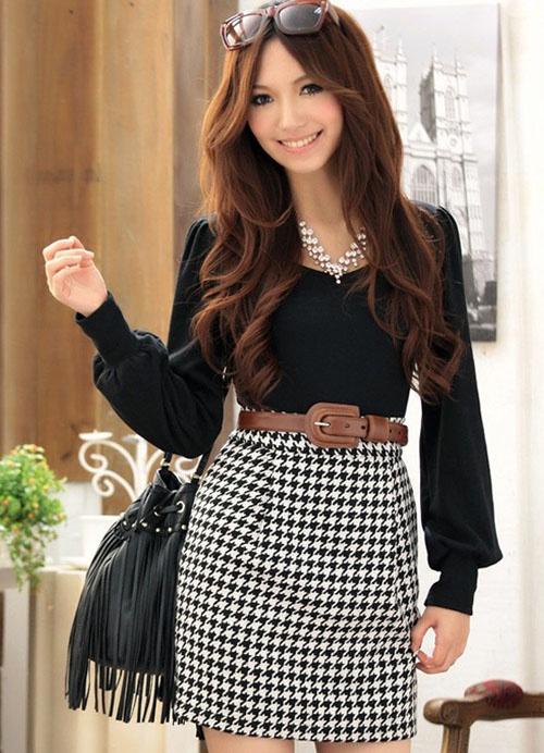 21 Ways To Wear Houndstooth This Fall Styles Weekly