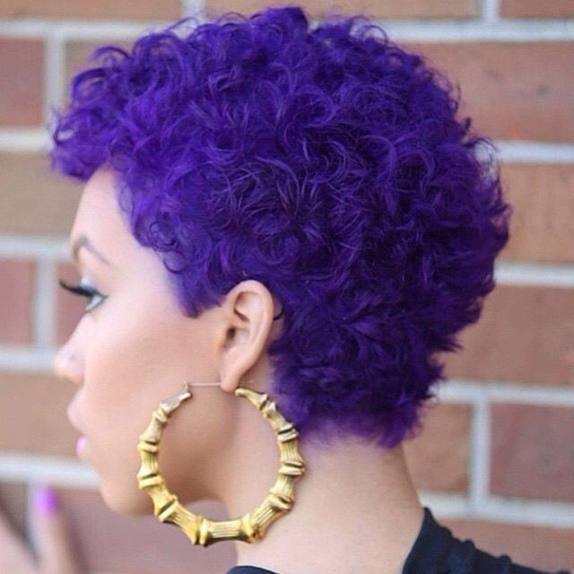 25 Cute Curly And Natural Short Hairstyles For Black Women Page