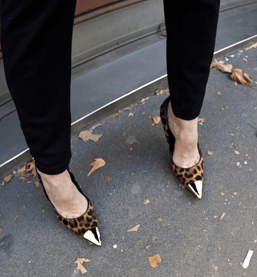 toe cap heels