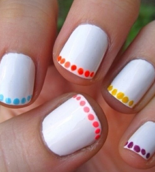 Lazy Manicure Idea