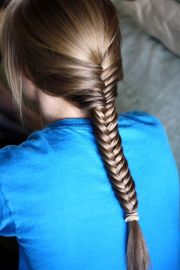 beautiful fishtail braided hairstyles