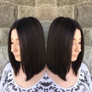 eye-catching -line bob hairstyles
