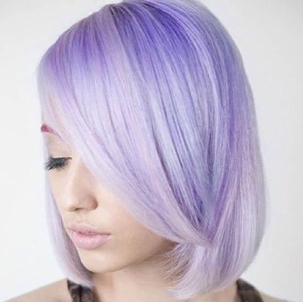 Hair Color Ideas 20 Gorgeous Pastel Purple Hairstyles