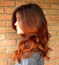 Ombre Auburn Hair | Styles Weekly