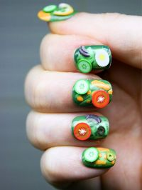 16 Interesting Food Nail Designs to Try - crazyforus