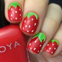 Adorable Strawberry Nail Design | Styles Weekly