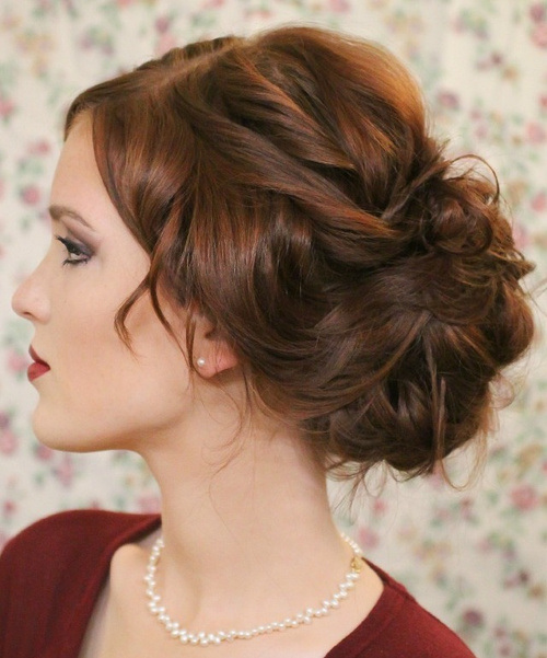 20 Beautiful Hairstyles For Prom Styles Weekly